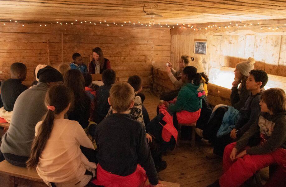 Veillée d'hiver à la Maison du Patrimoine - groupe enfants