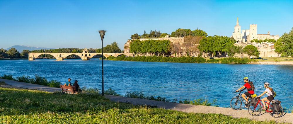 EV17 – étape 17 et 18 – Via Rhôna – Lapalud > Orange > Avignon - Lapalud