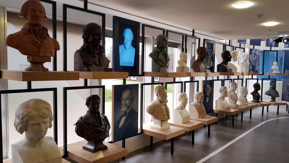Visite de Mus'X, musée de l'école Polytechnique