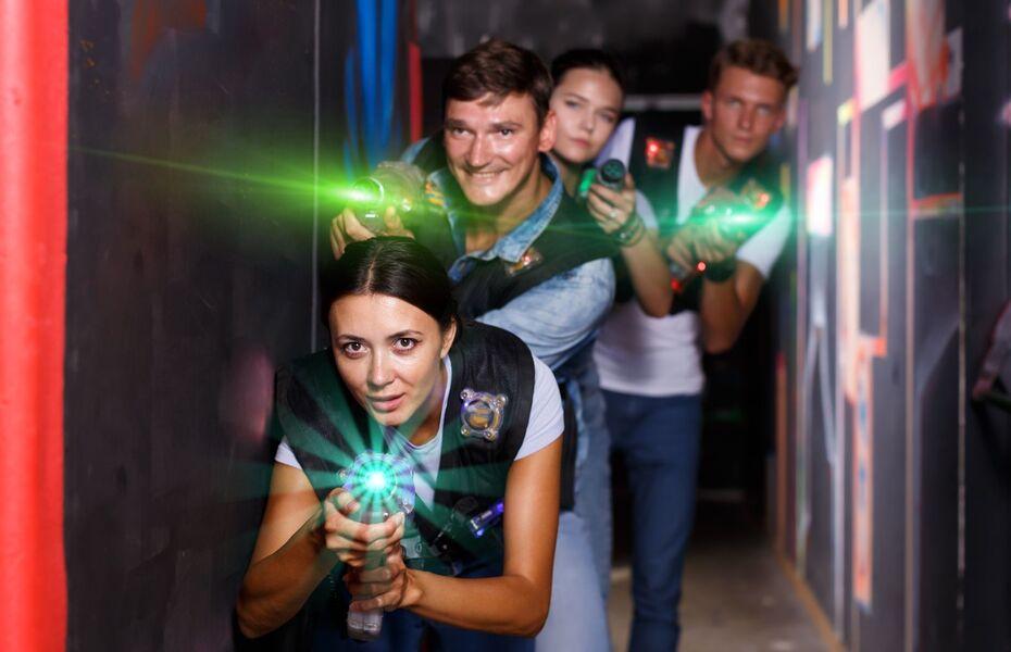 Laser Quest Massy