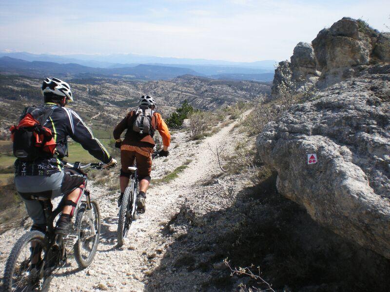 Grand Tour du Pays de Forcalquier en VTT