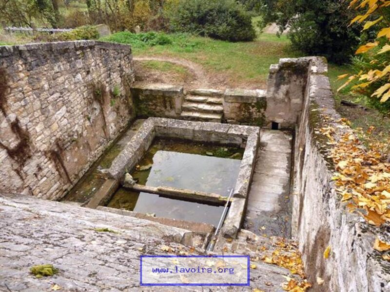 Lavoir et fontaines de Puylaroque
