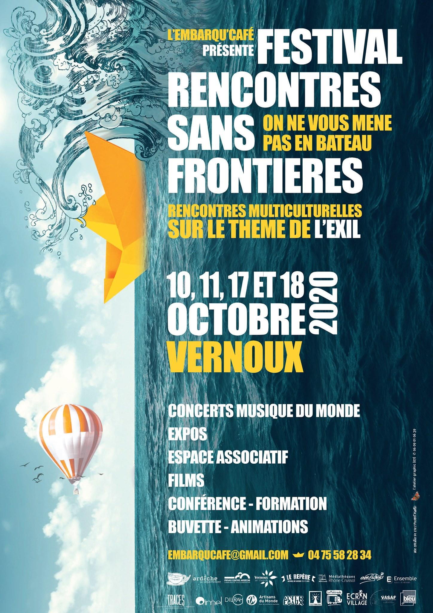 Festival multiculturel Rencontres sans frontières (1ère édition)
