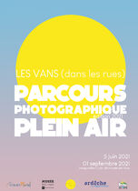 Parcours photographique plein air - Les Vans