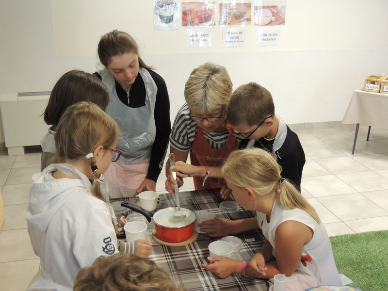 Atelier groupes : Les petits fromagers