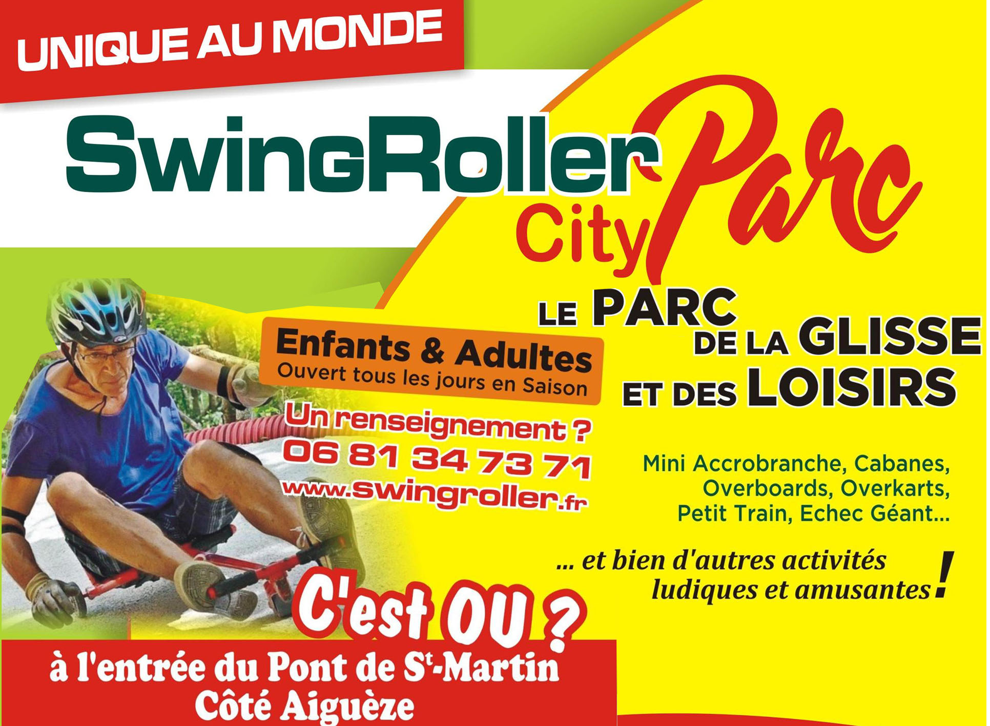 SwingRoller City Parc