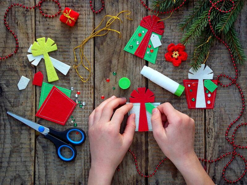 Ateliers créatifs de Noël au village