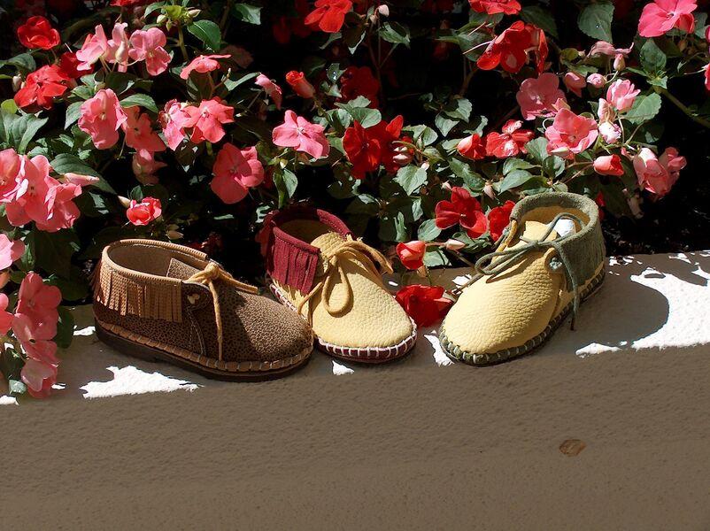 ZA Workshop - Baby slippers - Elisabeth Sicardi