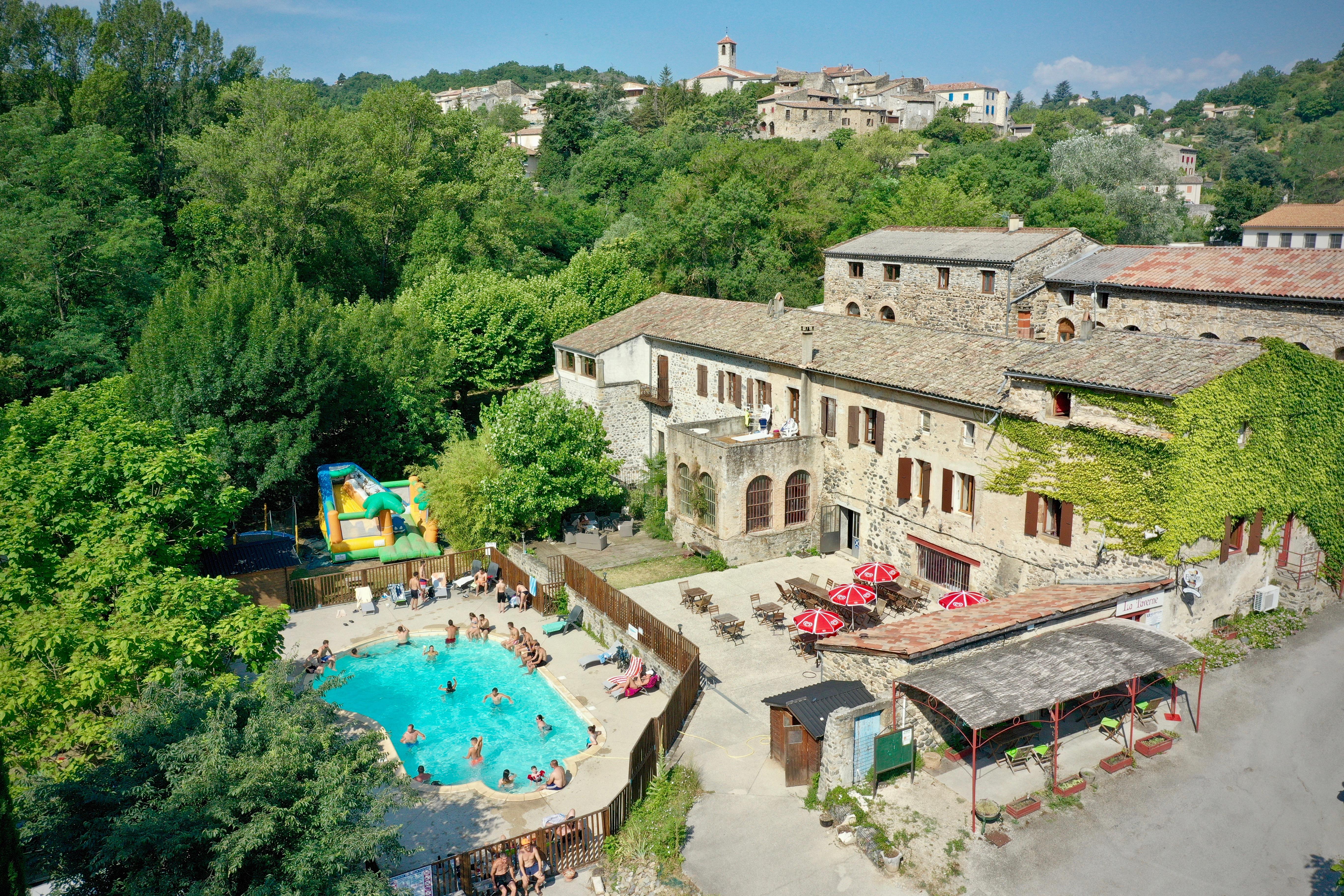 Camping : Le Moulin d'Onclaire Campsite