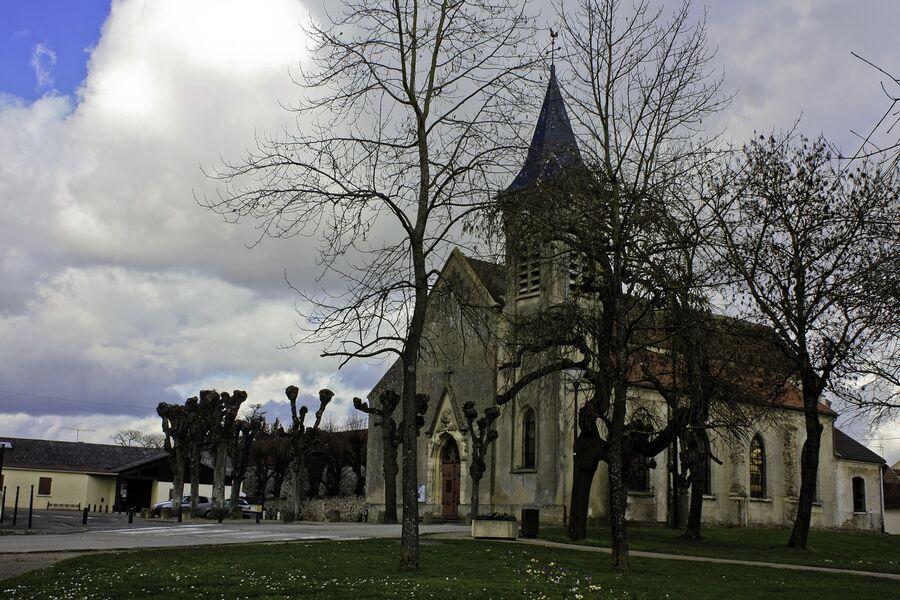 Eglise Saint Barthélémy à Chauconin Neufmontiers