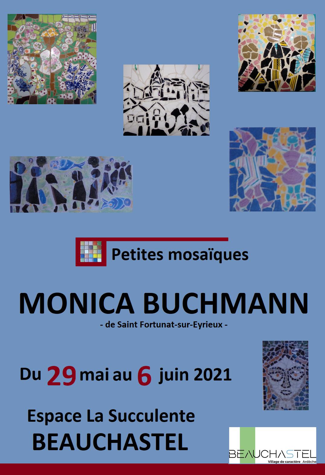 Rendez-vous futés ! : Exposition de Monica - Les petites mosaïques