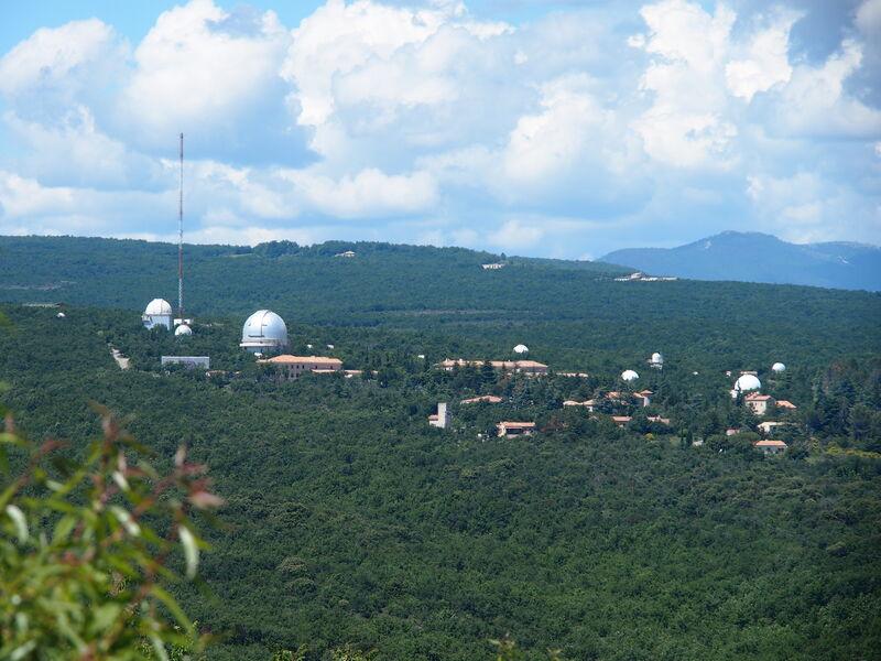 Coupoles de l'Observatoire de Haute Provence