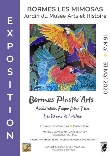 Annulée - Exposition Bormes Plastic' Arts