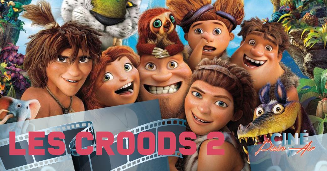 Illustration de Ciné plein air / Les Croods 2 : une nouvelle ère
