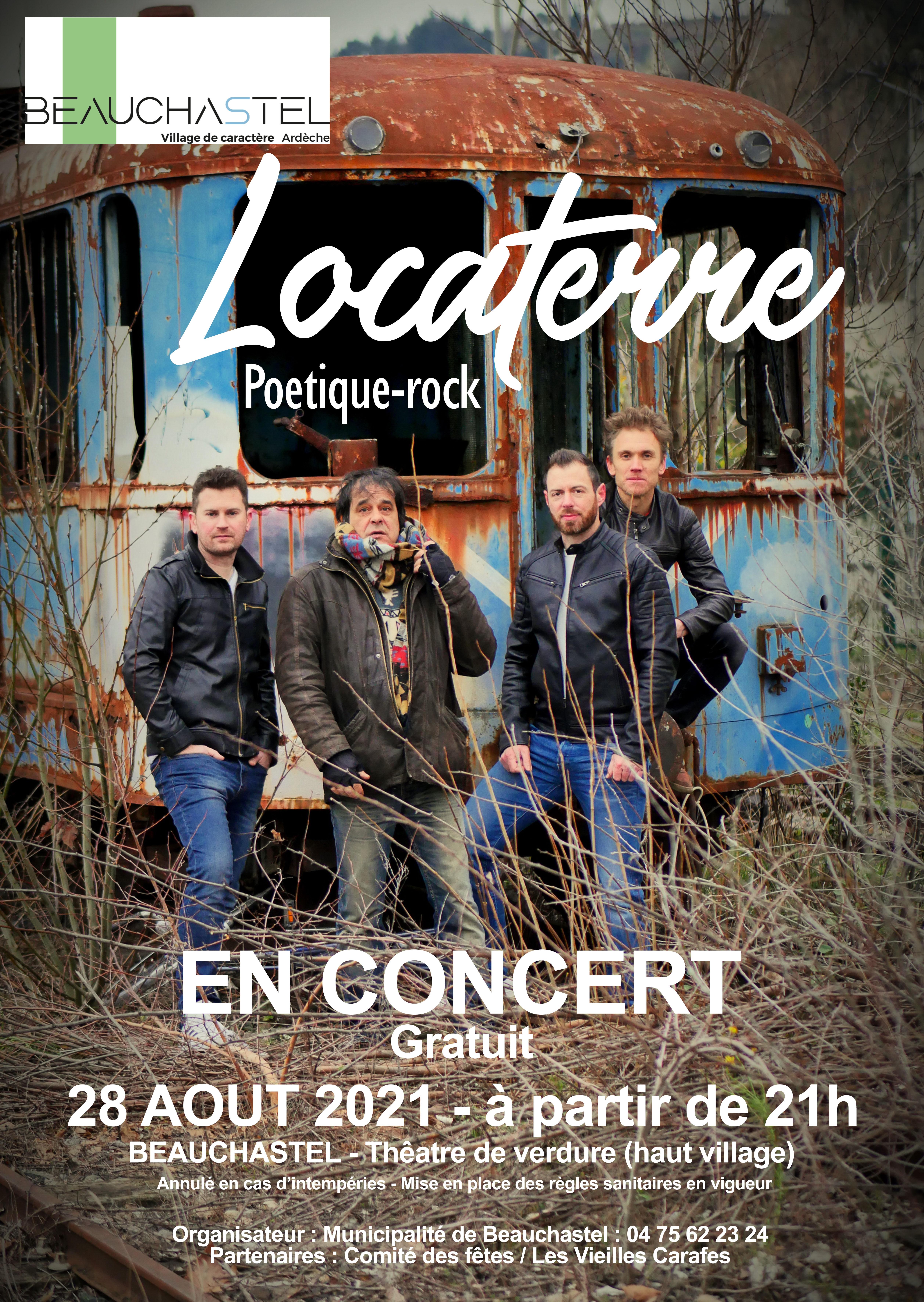 Concert : Locaterre