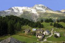 Vue sur le Mont Pourri