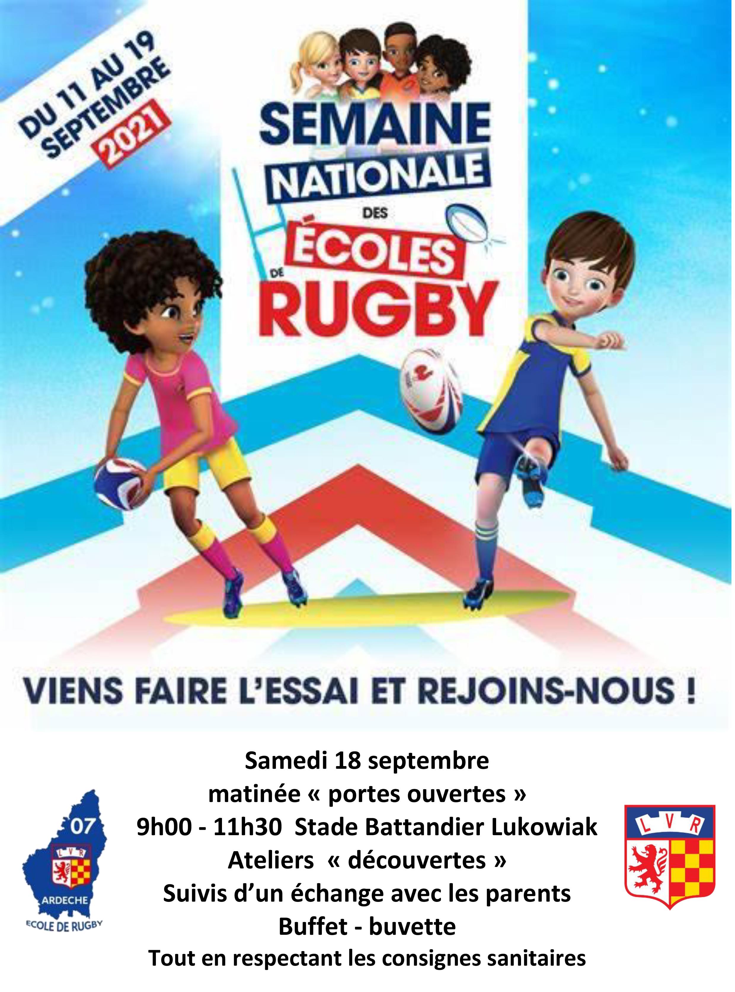 Rendez-vous futés ! : Matinée portes ouvertes : LVR Rugby