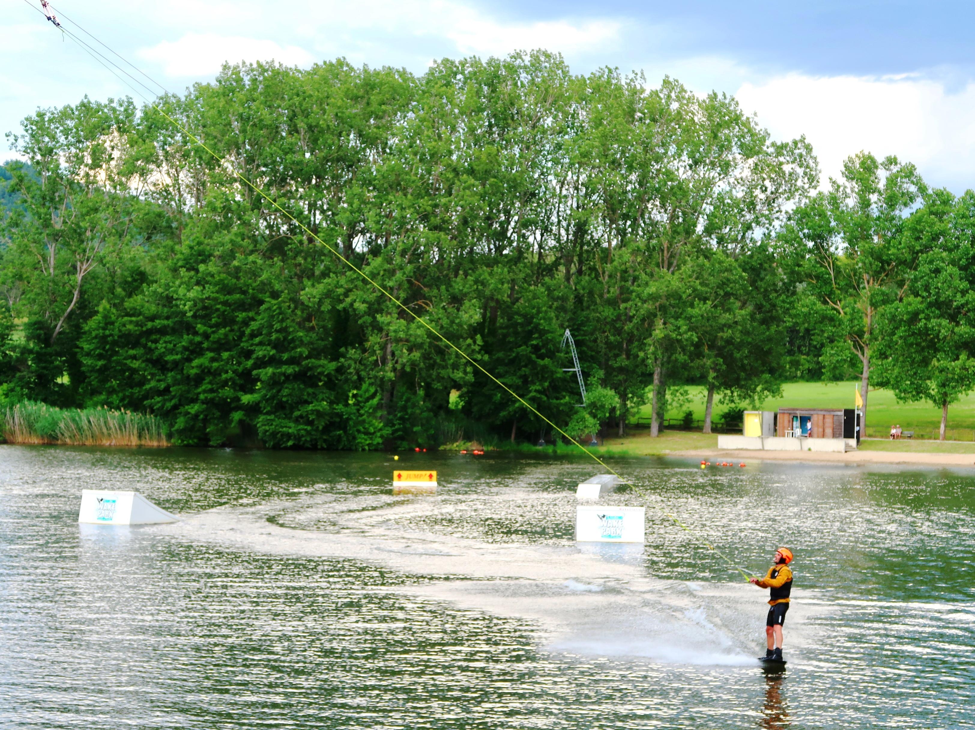 Ardecho Wake Park : wakeboard et autres sports de glisse aquatique