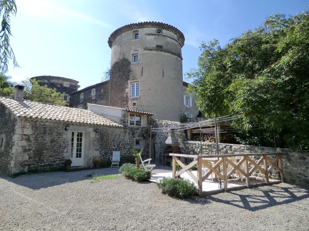 Château de Mauras :  Gîte Ouest