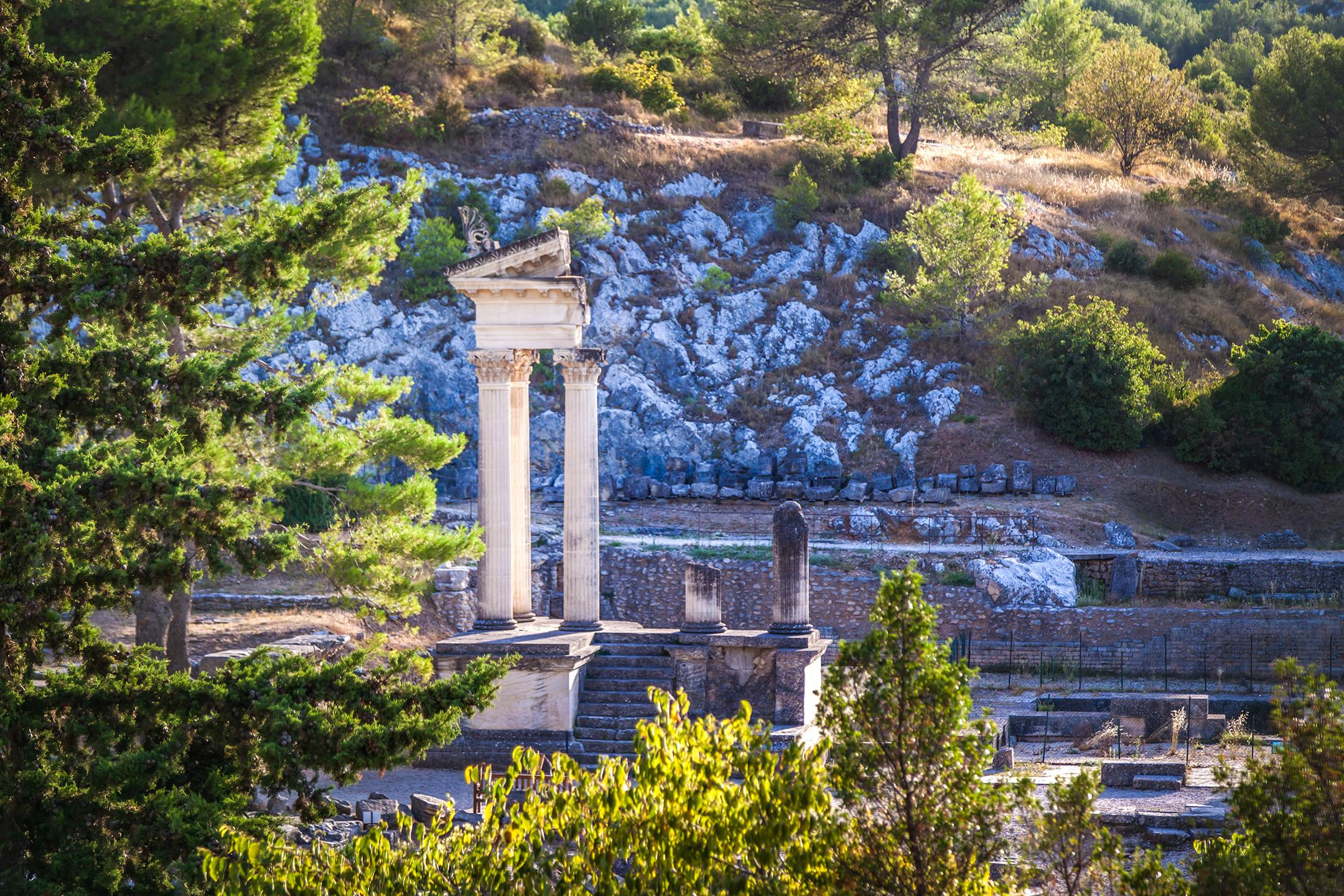 site-archeologique-de-glanum