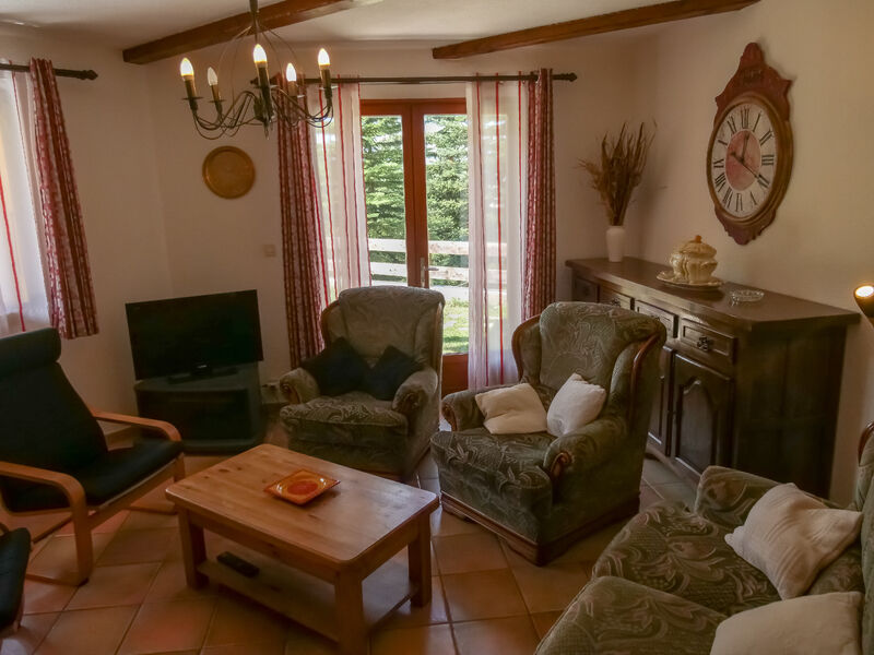 Appartement Le Chaberton – Chalet Le Souréou - Salon - Chalet Le Souréou