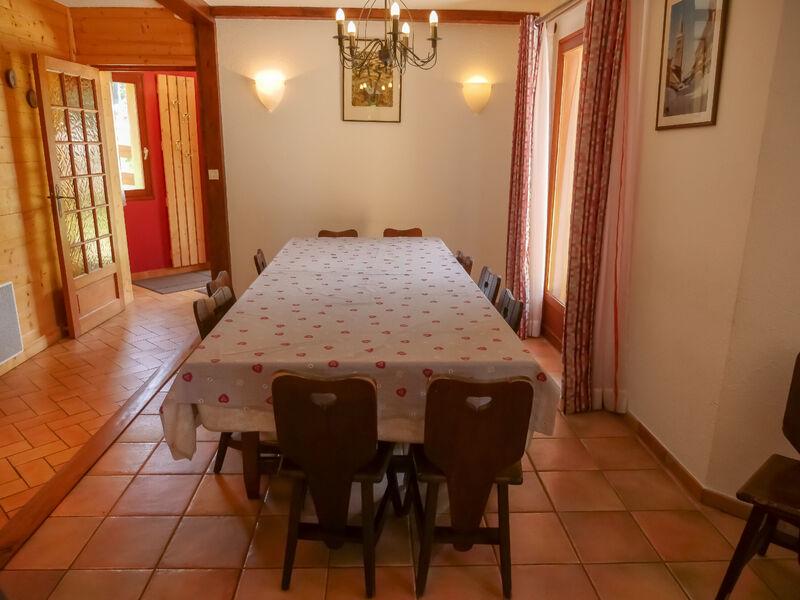 Appartement Le Chaberton – Chalet Le Souréou - Salle à manger - Chalet Le Souréou