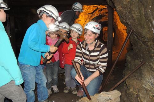 Site minier des Hurtières Le Grand Filon - Visite pédagogique - Mine St Louis