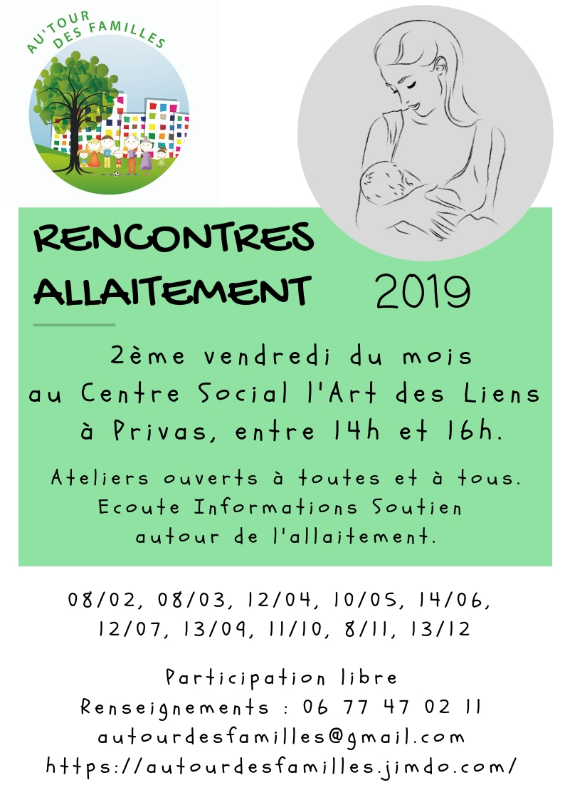 Events…Put it in your diary : Rencontres allaitement