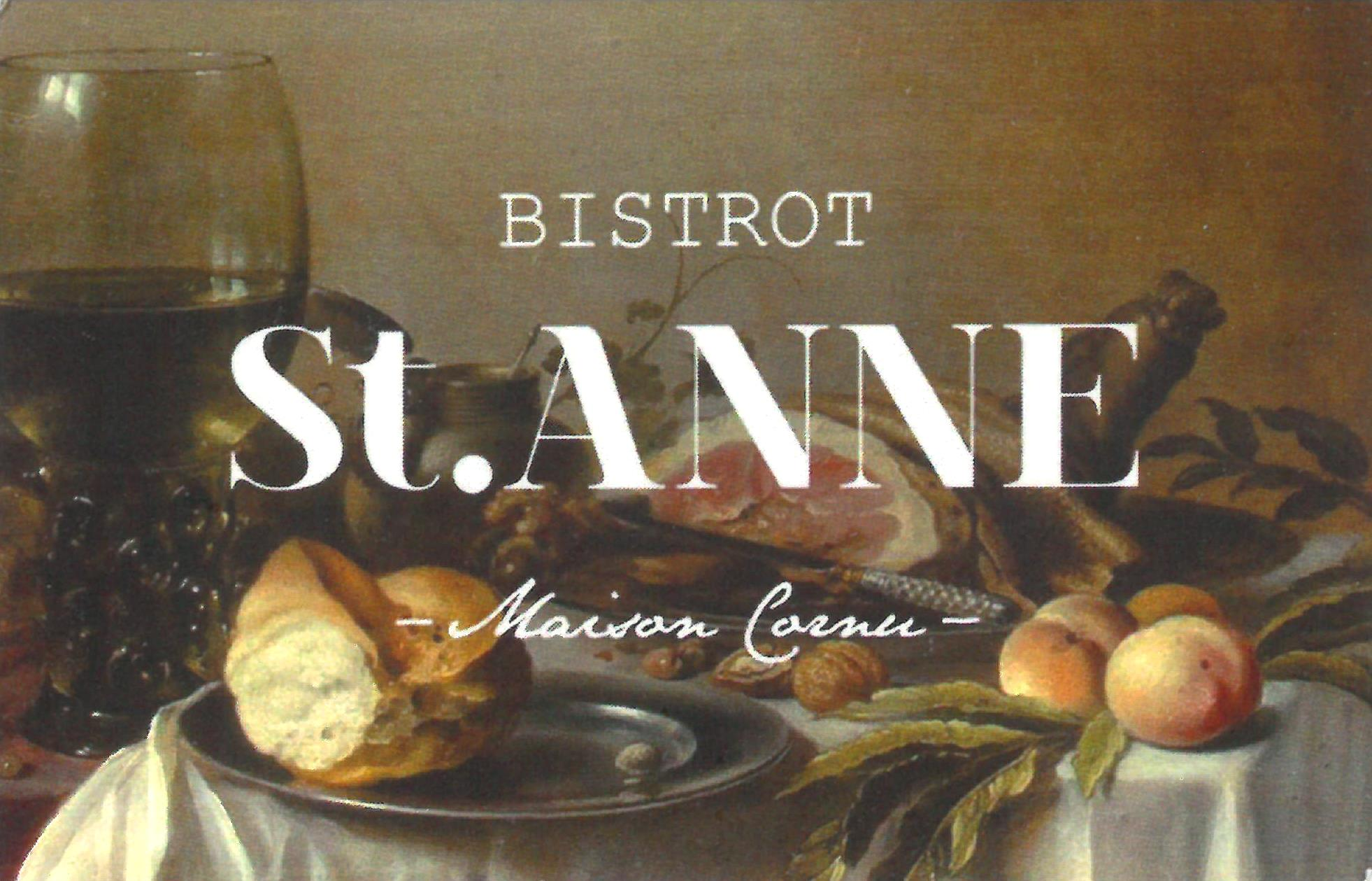 Café-restaurant Bistrot St Anne / Maison Cornu