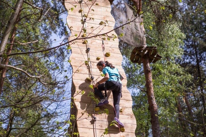 Tree climbing - Aventure Floreval