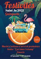 Batucada Djalico 'Samb - musiciens en déambulation - Saint-Julien-en-Saint-Alban