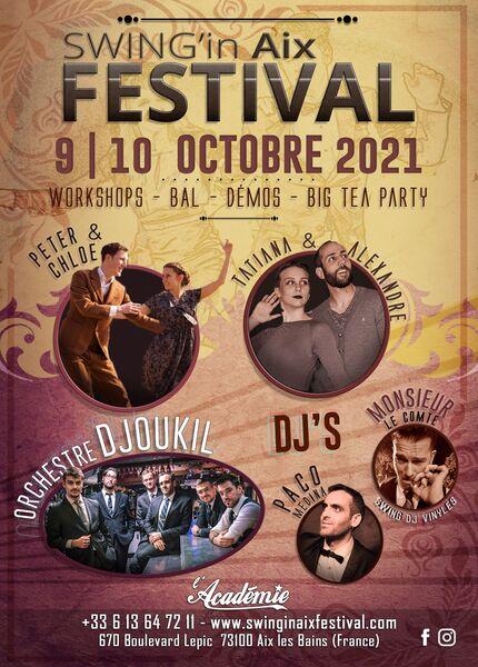 Swing in Aix Festival