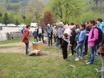 Les Estivales : visite de Terre d'abeilles - Arcens