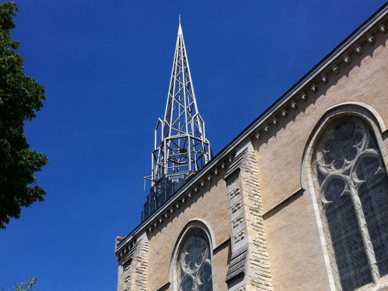 Clocher de léglise Notre-Dame