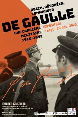 Exposition De Gaulle au Service Historique de la Défense