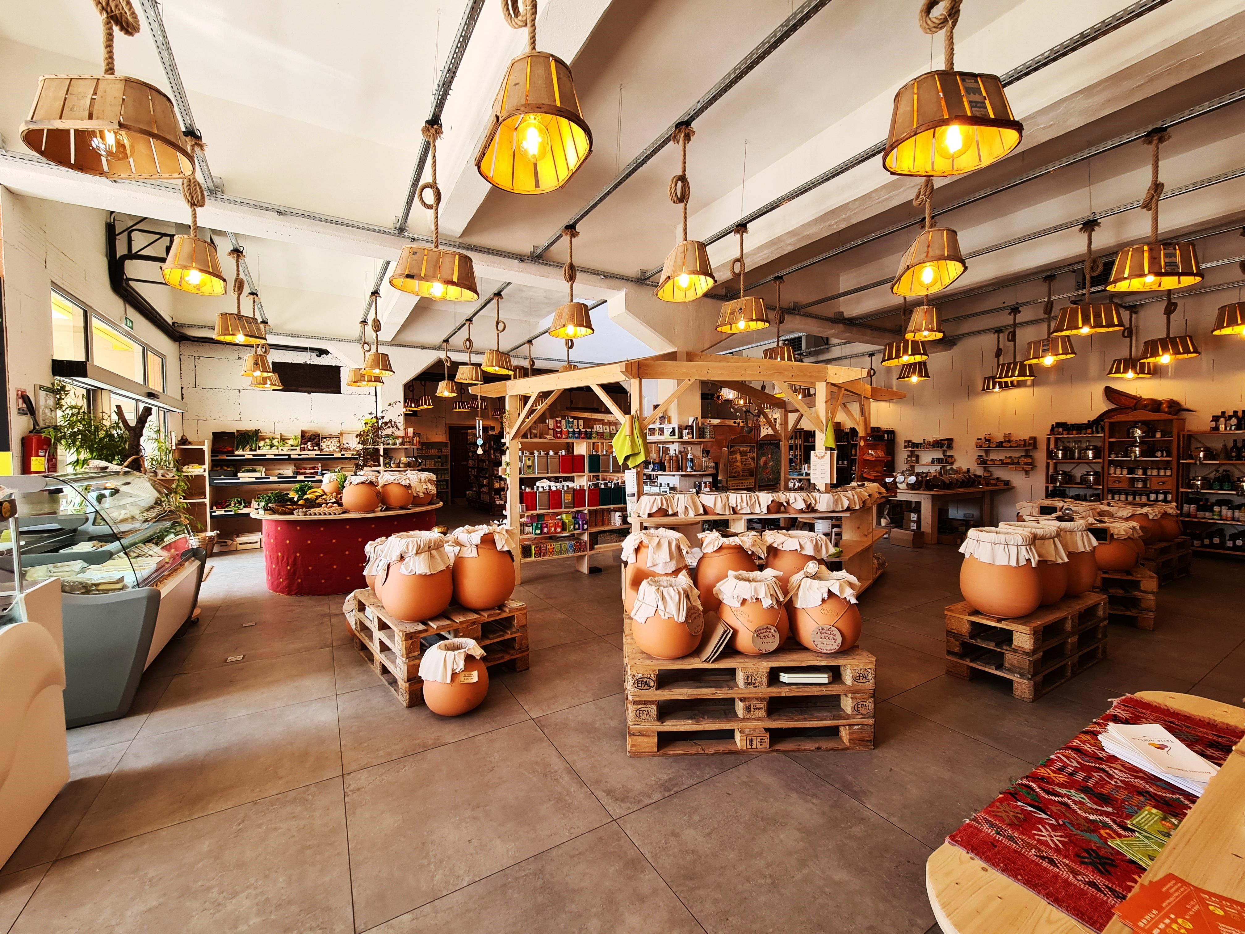 Au Tournesol - Épicerie bio, locale, vrac, produits végétariens/végétaliens