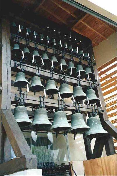 Visite et audition du carillon de la Basilique de la Visitation