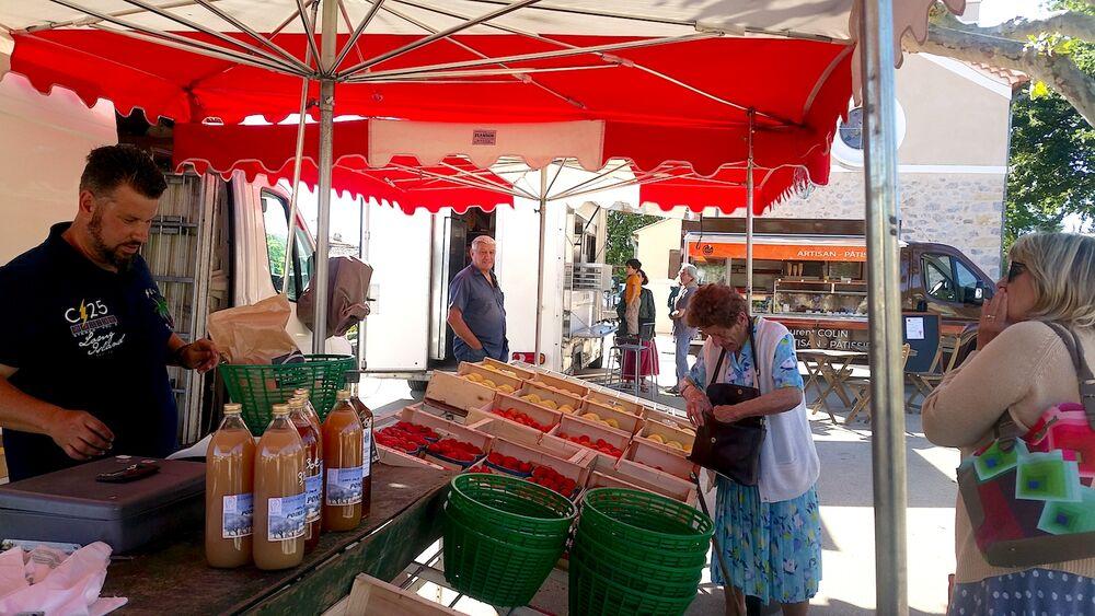 Marché de Salignac