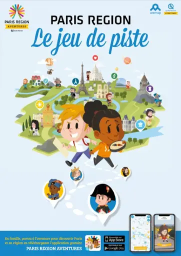 "Jeu de piste à Dourdan ""Paris Region Aventures"""