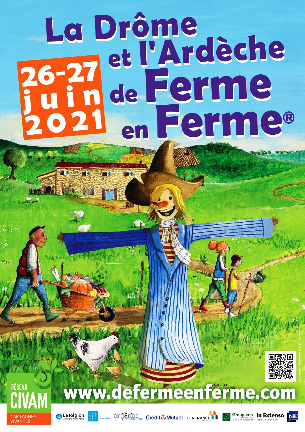 Alle leuke evenementen! : De Ferme en Ferme : EARL La Forêt du Puy
