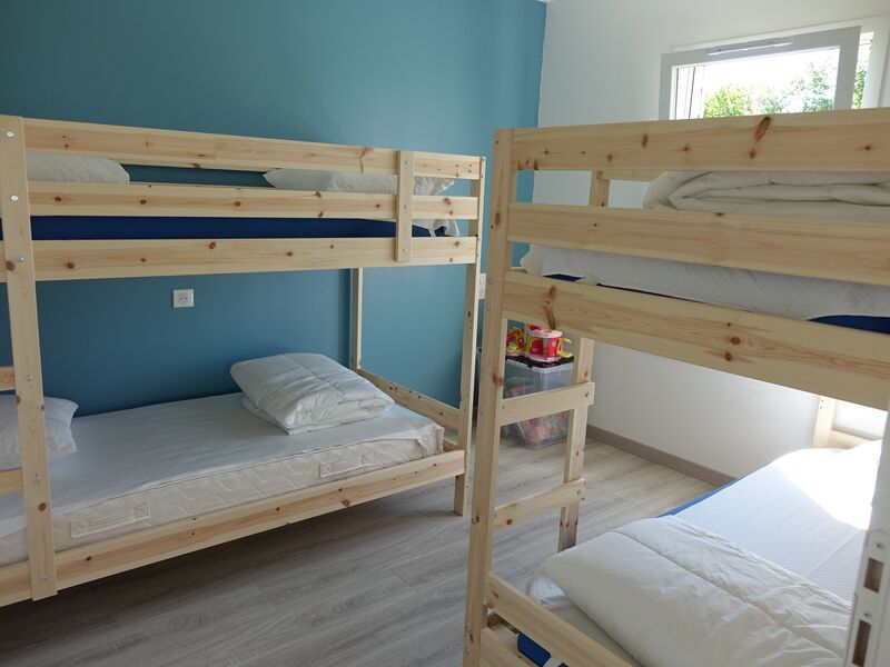 Chambre lits simples superposés