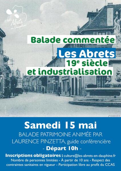 Balade patrimoine commentée - 19è siècle et industrialisation