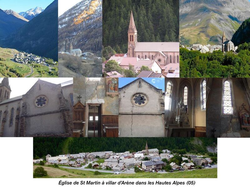 Eglise Saint Martin_Villar D'Arène - ©AssocEgliseStMartin