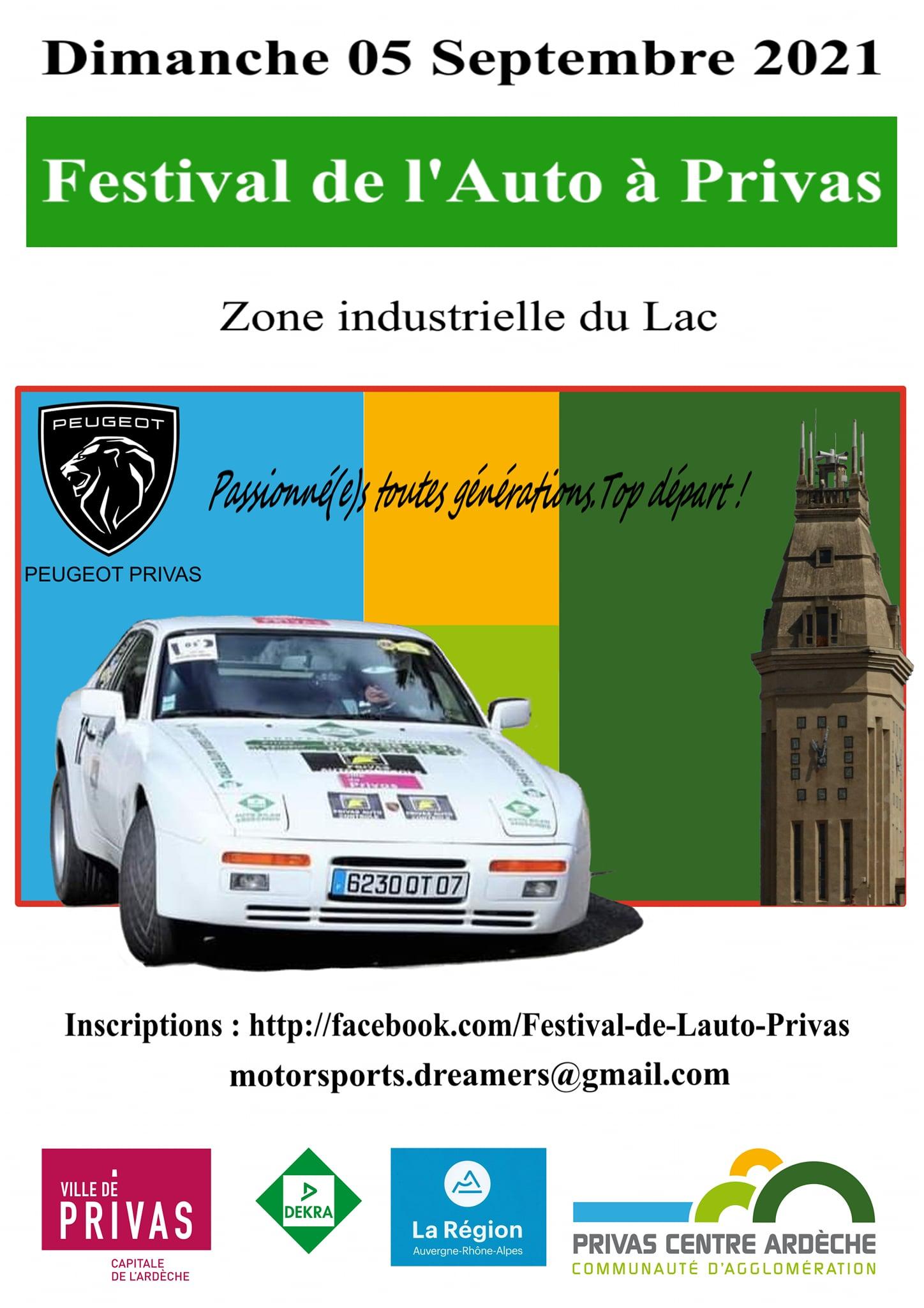 Festival de l'Auto Privas 2021