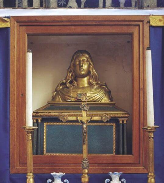 Buste reliquaire de sainte Flodoberthe