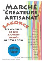 Marché des créateurs et artisanat - Lagorce