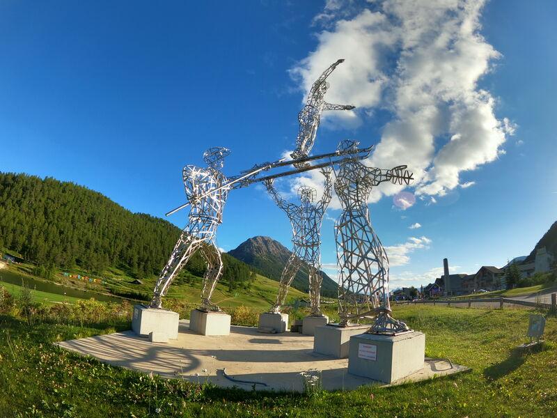 Sculpture l'Envol - Sculpture l'Envol - Office de Tourisme de Montgenèvre