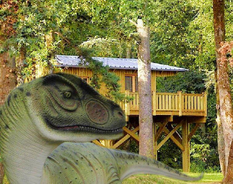 Mas de Saillac - La cabane perchée - Jurassic