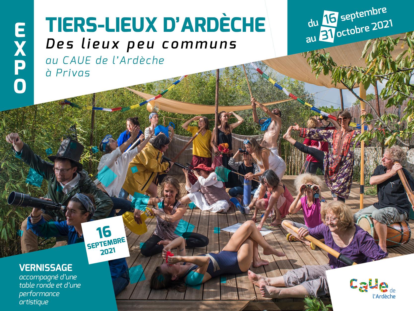 Rendez-vous futés ! : Exposition « Tiers-Lieux d'Ardèche, des lieux peu communs »