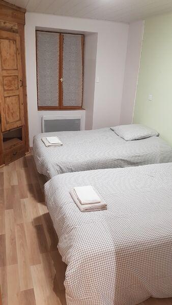 Chambre 2 appartement marmotte orelle